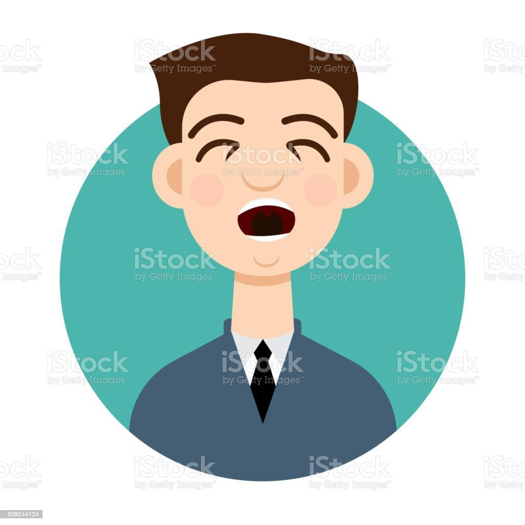 Icono de tos. Tos hombre. ilustración de icono de tos tos hombre y más banco de imágenes de adulto libre de derechos