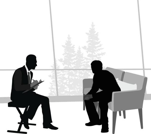 illustrations, cliparts, dessins animés et icônes de session de psychothérapie - twerk