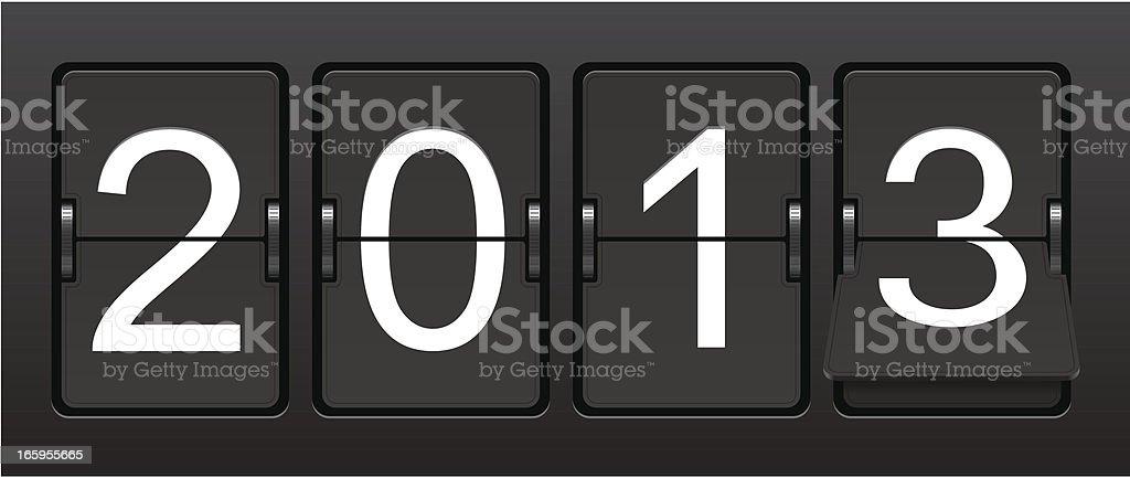 Countdown Clock vector art illustration