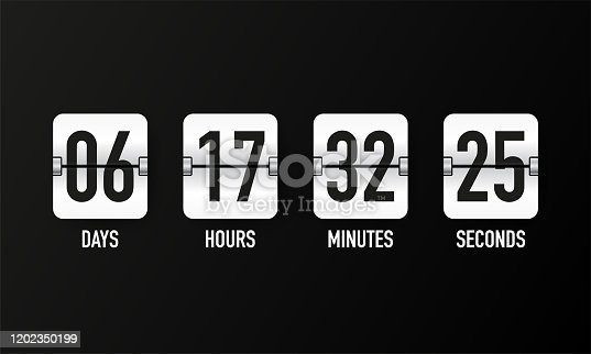 Countdown Flip Psd Free File Download Now