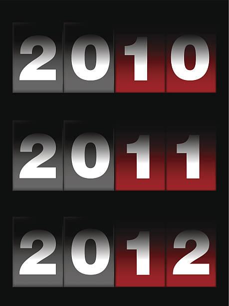 bildbanksillustrationer, clip art samt tecknat material och ikoner med countdown - 2010
