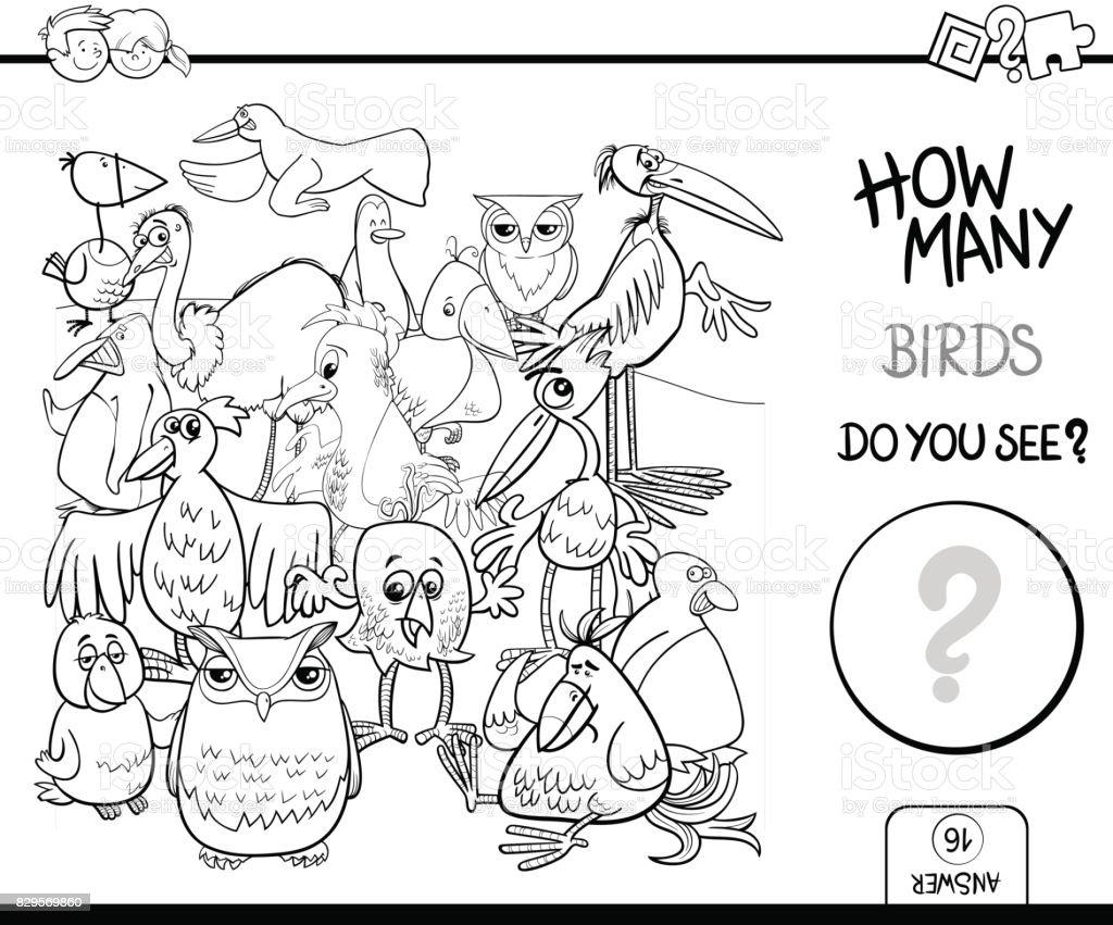 vögel zählen