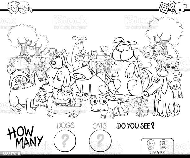 Counting cats and dogs coloring book vector id886857018?b=1&k=6&m=886857018&s=612x612&h=gv1iidtf dya5tjemnjzafde7ycv9rftnoz u9qrhfk=