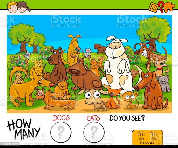 Counting cats and dogs educational game vector id886857028?b=1&k=6&m=886857028&s=612x612&h=ag3e5zj yabguz4n8q5xdxrftbiw9jnt1zlxiwt3i i=