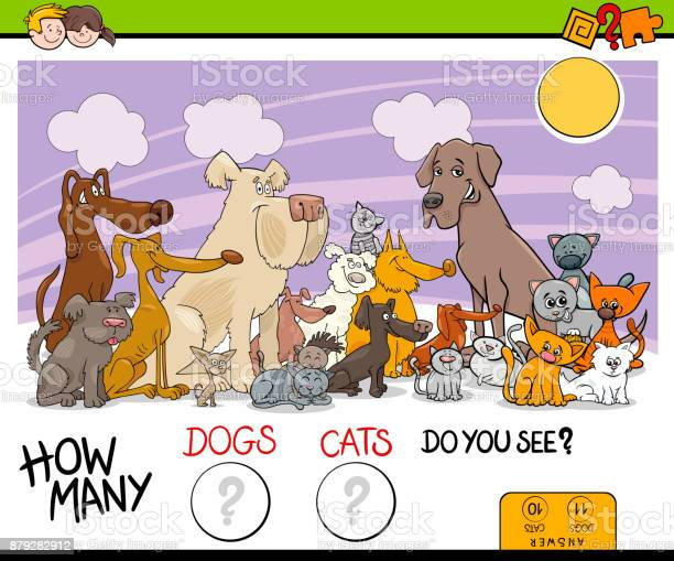 Counting dogs and cats activity game vector id879282912?b=1&k=6&m=879282912&s=612x612&h=gladnzcqqiw1rzabohyqbfq rshpdah3fqyxatlmcsc=