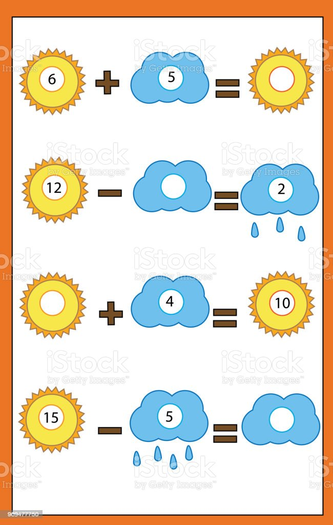 Counting Educational Children Game Math Kids Activity Complete ...