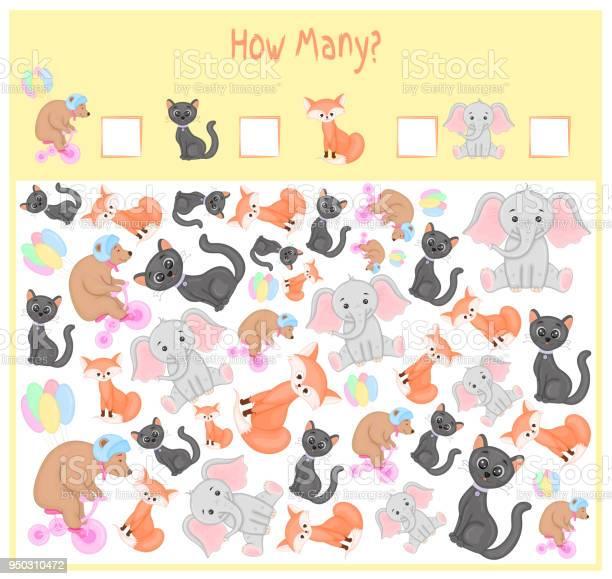 Counting game for preschool children a mathematical educational game vector id950310472?b=1&k=6&m=950310472&s=612x612&h=6vyv6cngqjjwotq2nyggmulvwvn2trzsqq6lmztxmly=