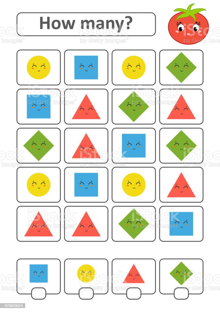 Counting Game For Preschool Children The Study Of ...