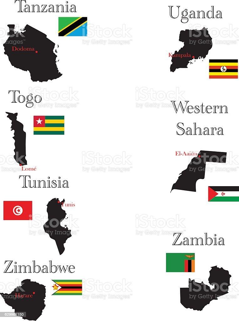Countries of africa tanzania togo tunisia uganda westernsahara countries of africa tanzania togo tunisia uganda westernsahara zambia gumiabroncs Choice Image