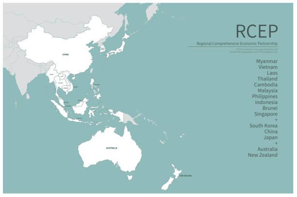 インド太平洋 イラスト素材 - iStock