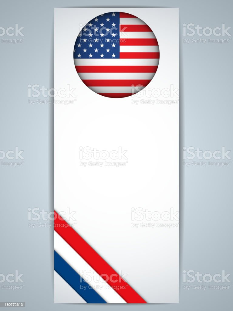 USA Country Banner royalty-free usa country banner stock vector art & more images of abstract