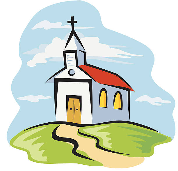 Steeple Clip Art, Vector Images & Illustrations - iStock