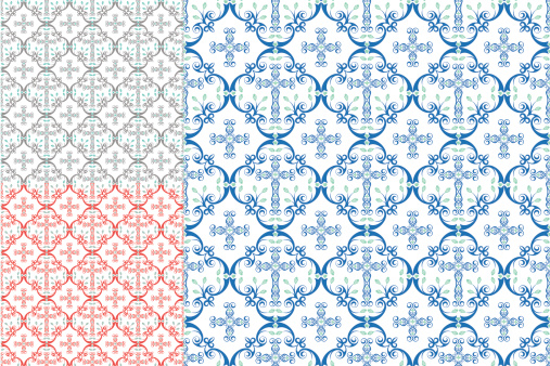 Country Cross Seamless Patterns