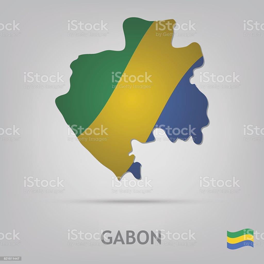Land Gabun Stock Vektor Art und mehr Bilder von Abstrakt 521511447 ...