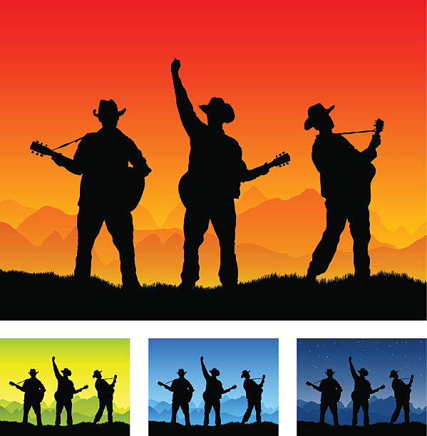 Royalty Free Country Band Clip Art, Vector Images ...
