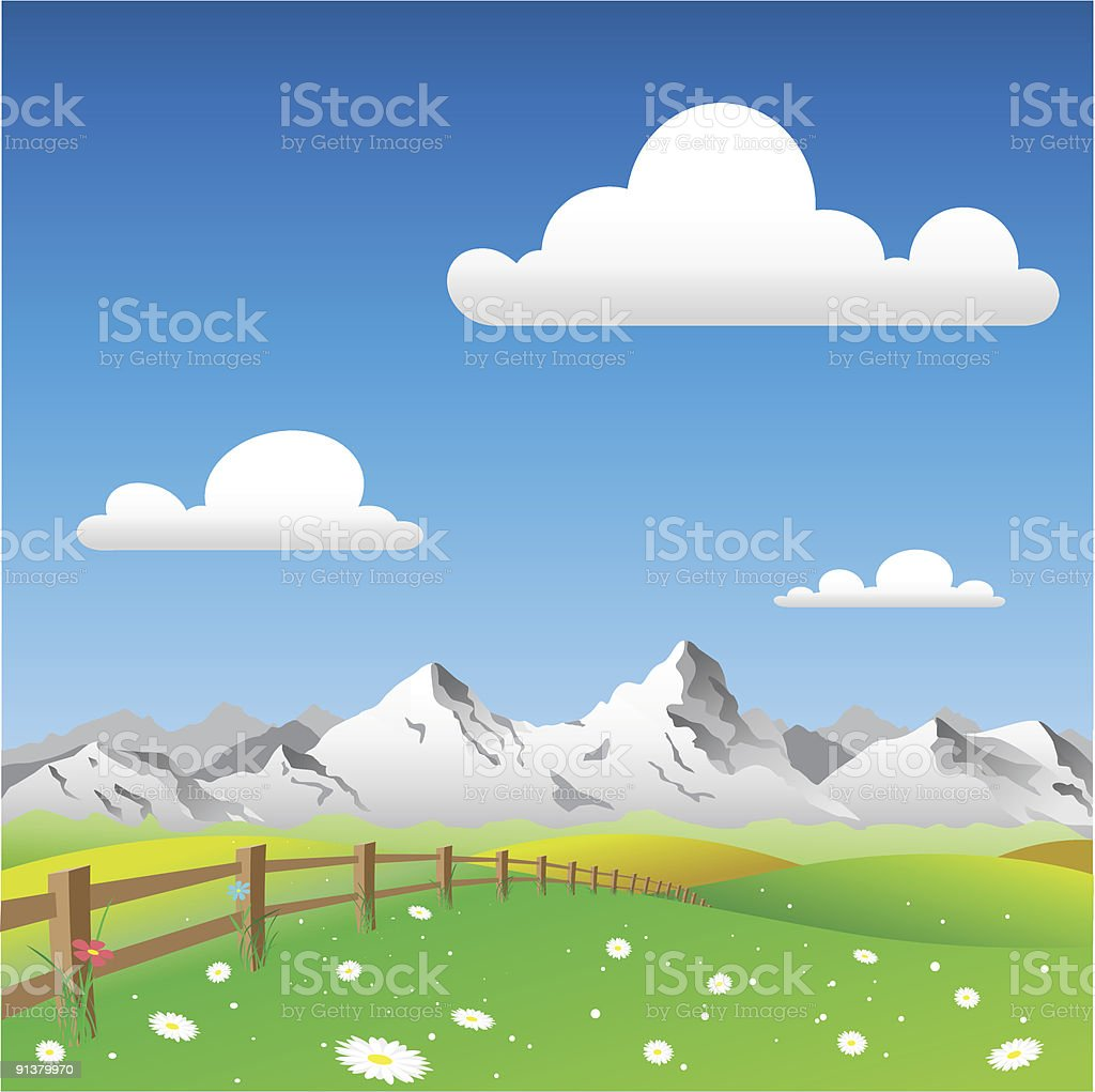 Country Landscape royalty-free country landscape stock vector art & more images of backgrounds