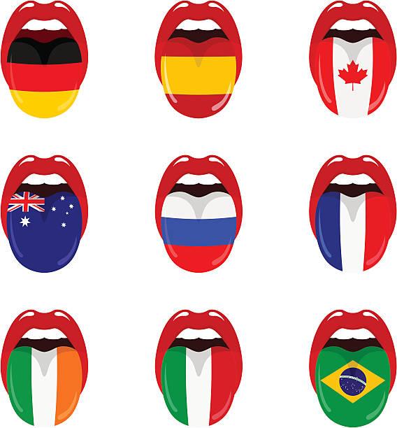 国の言語 - アイルランドの国旗点のイラスト素材/クリップアート素材/マンガ素材/アイコン素材