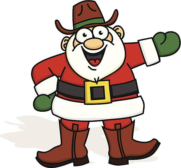 Royalty Free Cowboy Christmas Clip Art, Vector Images ...