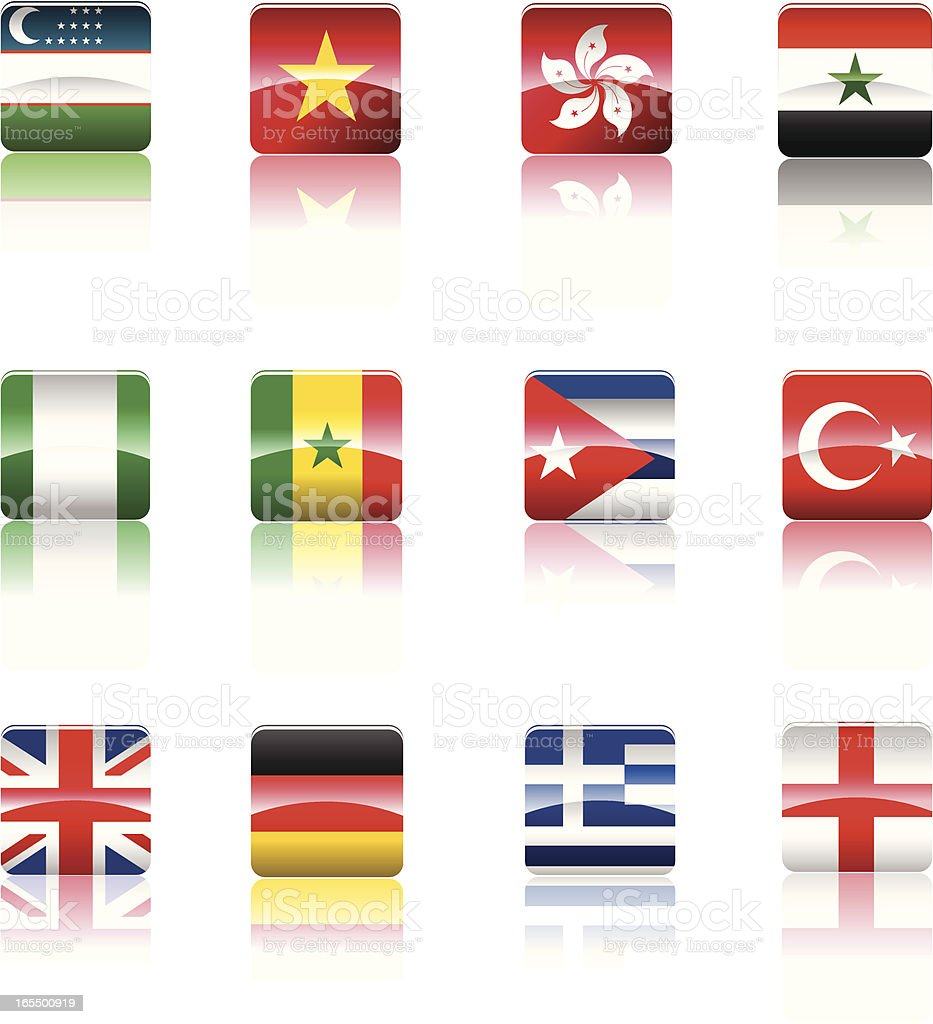Country's national Flag collection. royalty-free countrys national flag collection stock vector art & more images of art and craft