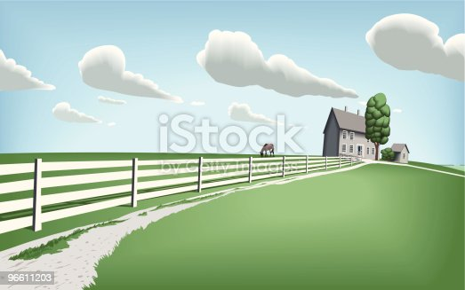Summer is here! A beautiful early summer day somewhere on the countryside...  More illustrations for a green summer:  [url=http://www.istockphoto.com/my_lightbox_contents.php?lightboxID=2168883][img]http://www.philippgasser.com/extern/summer_vector_illus.jpg[/img][/url]