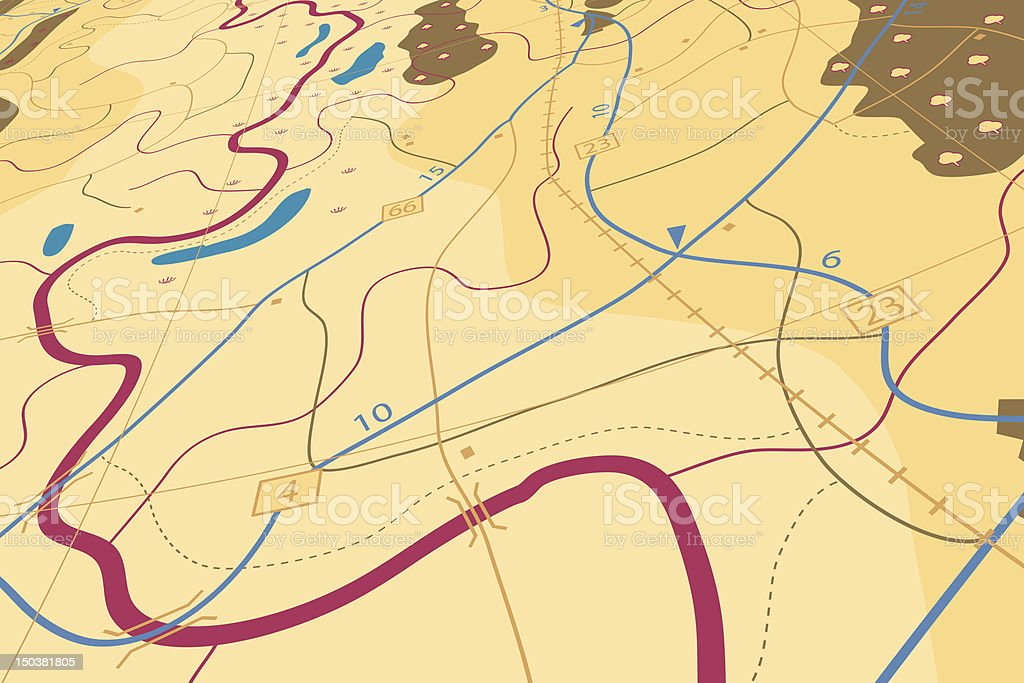 Countryside map royalty-free countryside map stock vector art & more images of backgrounds