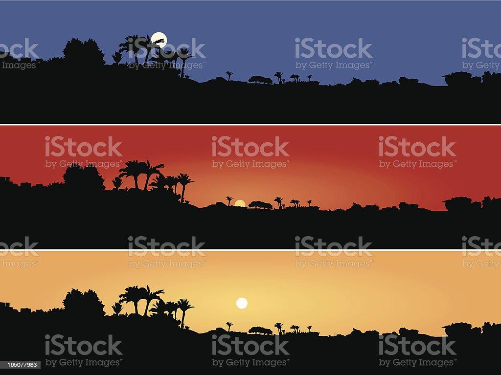 Countryside Scene royalty-free stock vector art