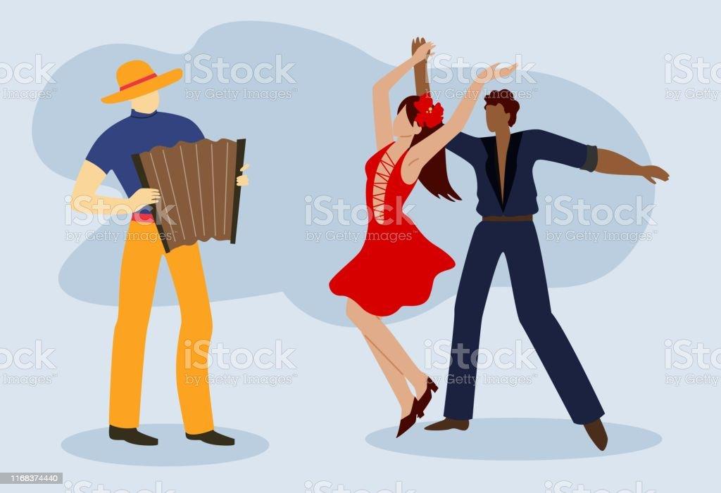 Vetores De Casal Trajes De Salao Danca Ballroom Dance E Mais Imagens De Abstrato Istock