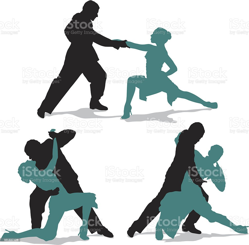 Couple dancing argentine tango royalty-free couple dancing argentine tango stock vector art & more images of argentina