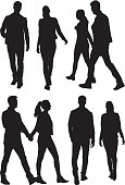 Couple holding hands and walkinghttp://www.twodozendesign.info/i/1.png