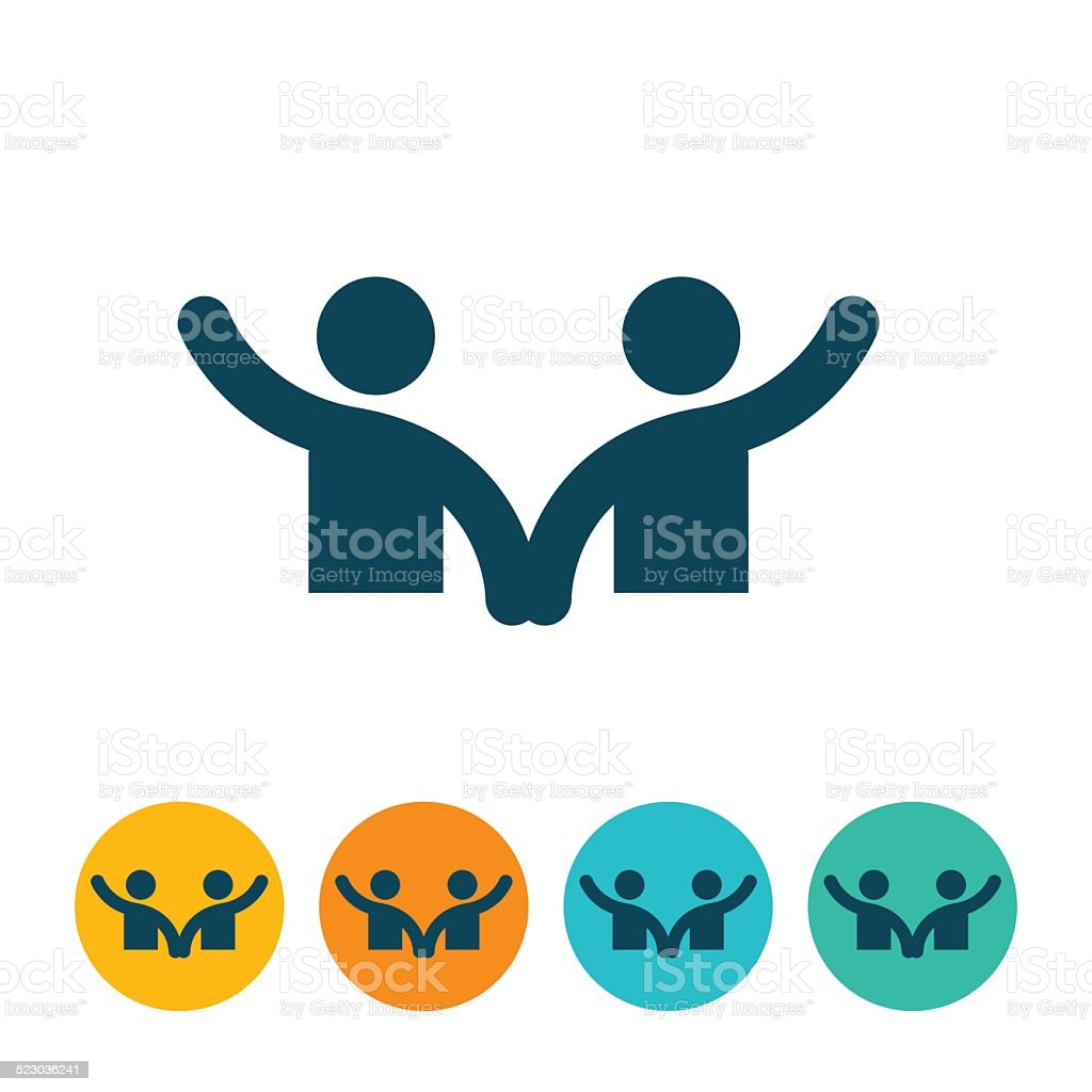 Couple Icon vector art illustration