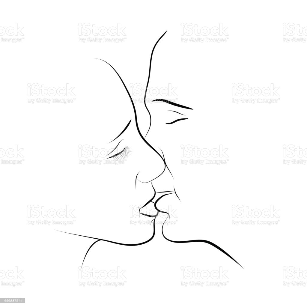 Flirten küssen