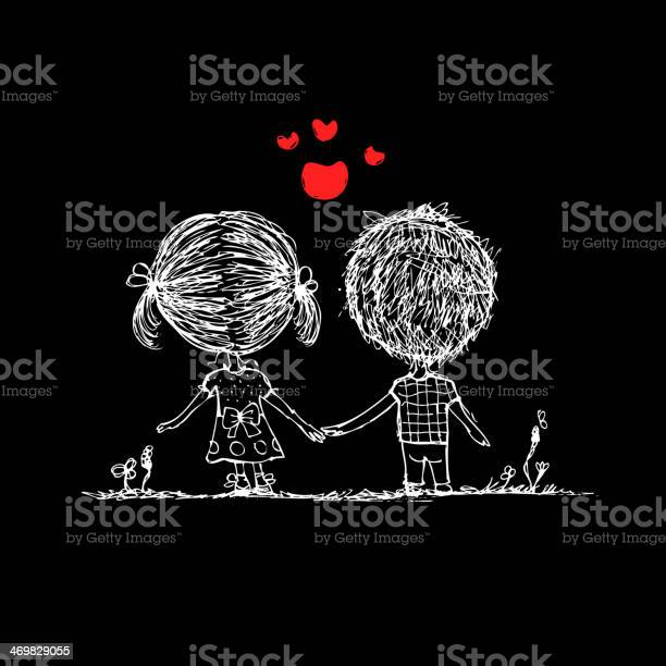 Couple in love together valentine sketch for your design vector id469829055?b=1&k=6&m=469829055&s=612x612&h=hmburxgohee5z9qnet9kg2ljeyk7pd3ryi2xnxluytq=