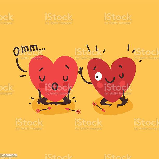 Couple in love two happy hearts doing yoga together vector id635696886?b=1&k=6&m=635696886&s=612x612&h=hejwrd0ot5owhksmroialjrkdtbvocl8qimbofrua2y=