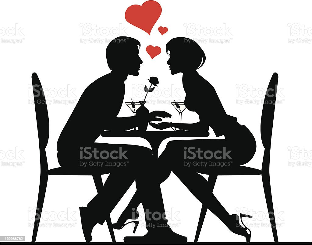 Download Couple In Lovevalentines Day Theme Stock Illustration ...
