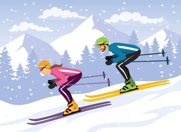 Image result for free clipart downhill snowboard