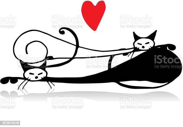 Couple of cat sketch for your design vector id625876448?b=1&k=6&m=625876448&s=612x612&h=jskt 2w3td do60rly908yh4kigluadxkelsxnxbu2a=