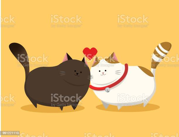 Couple of fat cat with red collar cute cats vector id991221110?b=1&k=6&m=991221110&s=612x612&h=vjkkxr 4m0rukvjafxiz6cmamy3sj89l31y3xay pdi=