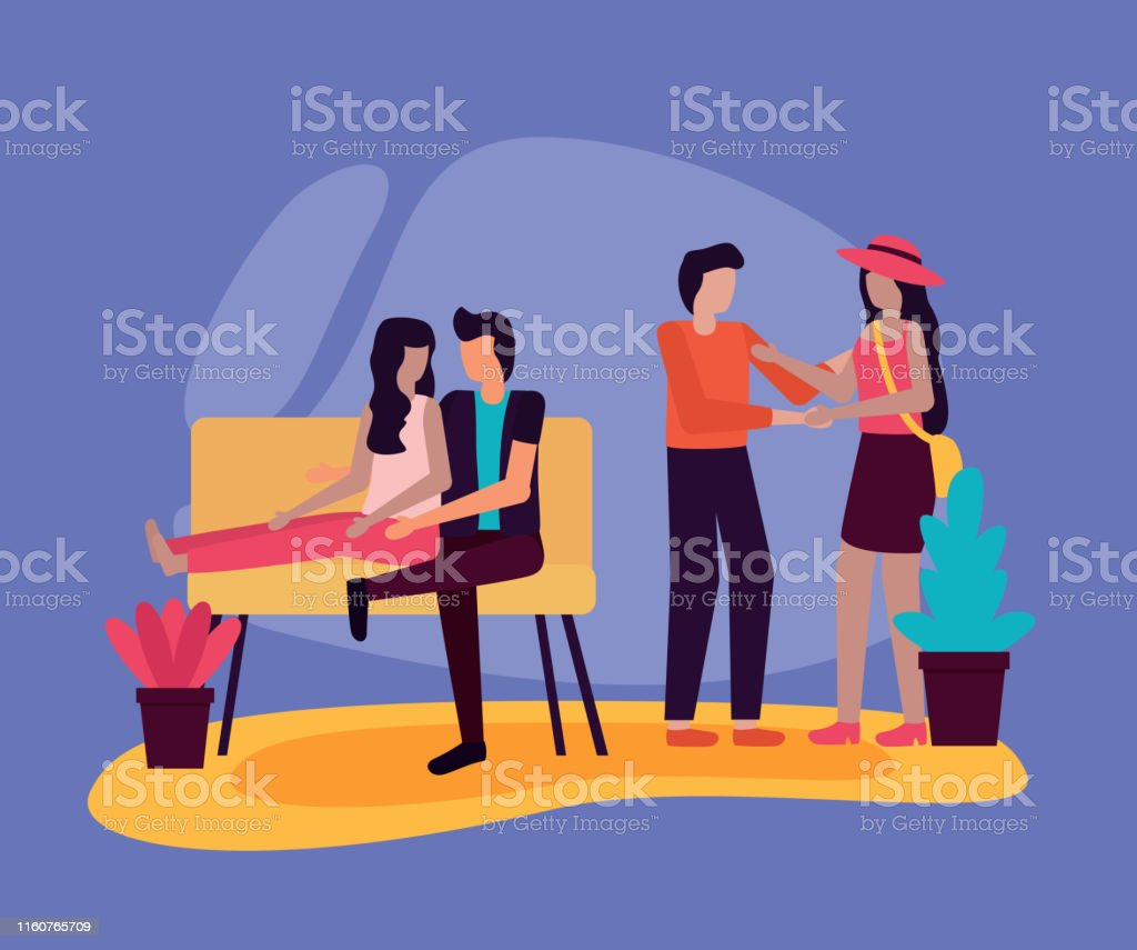 couple sitting in sofa and romantic man woman romantic activities...