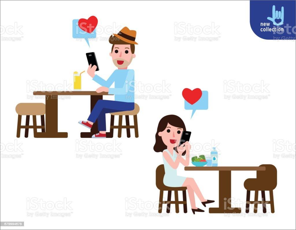 romantic chatting