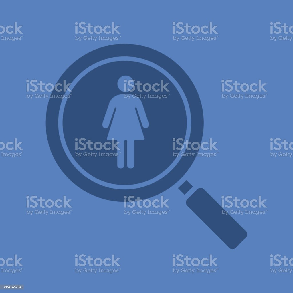 Couple search icon royalty-free couple search icon stock vector art & more images of adult