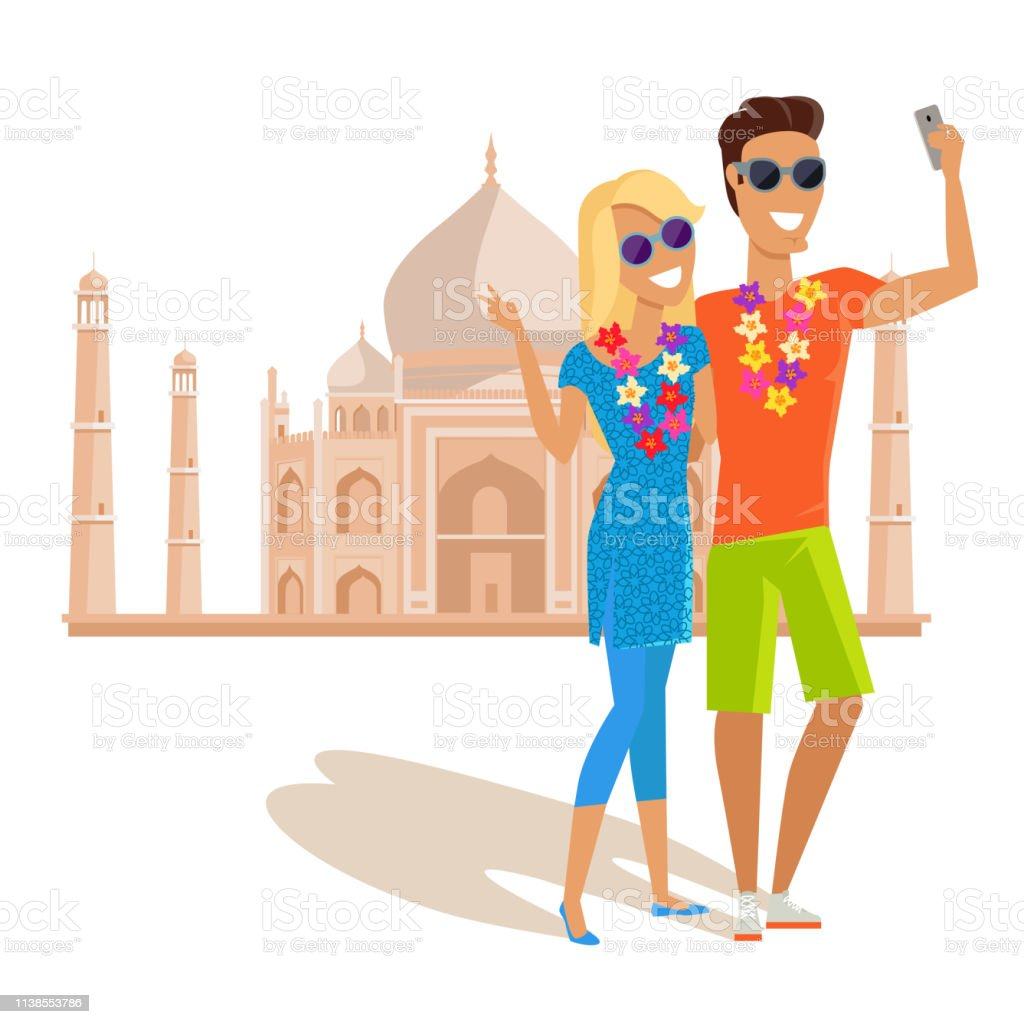 Summer vacation in India concept. Honeymoon in exotic countries...