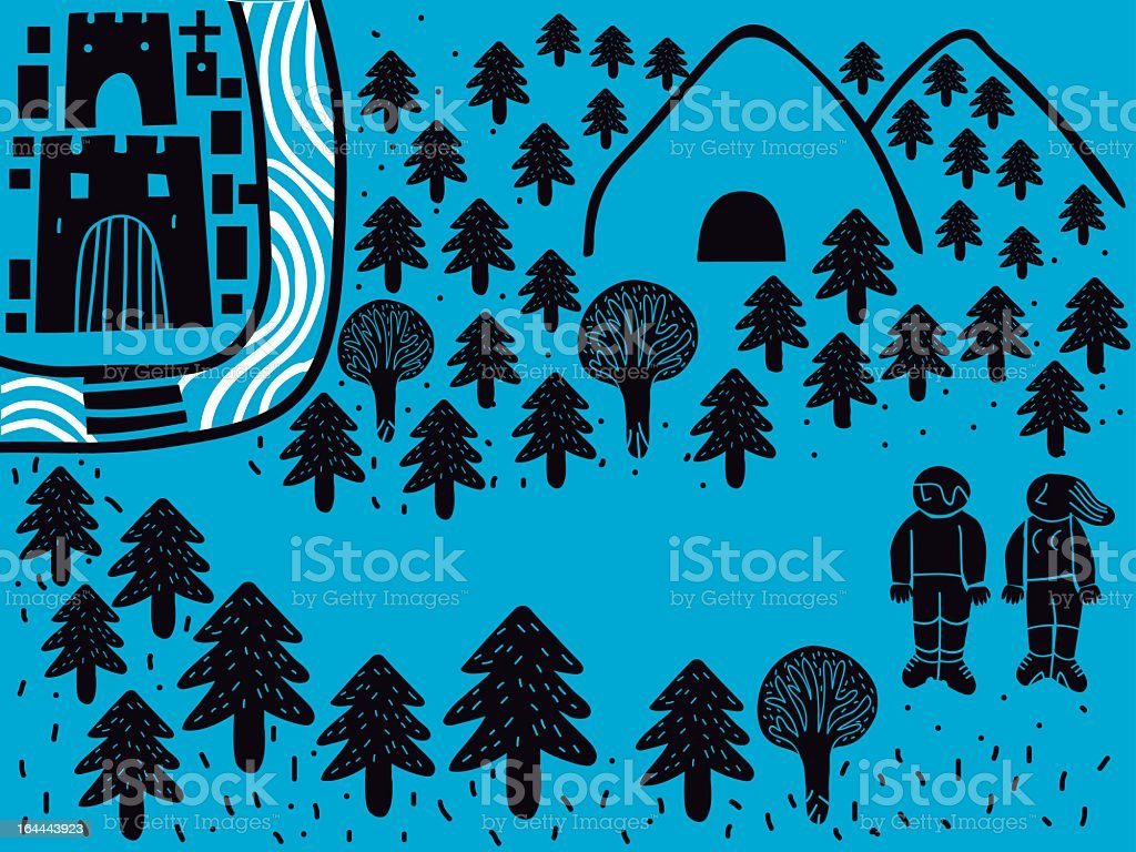 couple walkers royalty-free couple walkers stock vector art & more images of adult