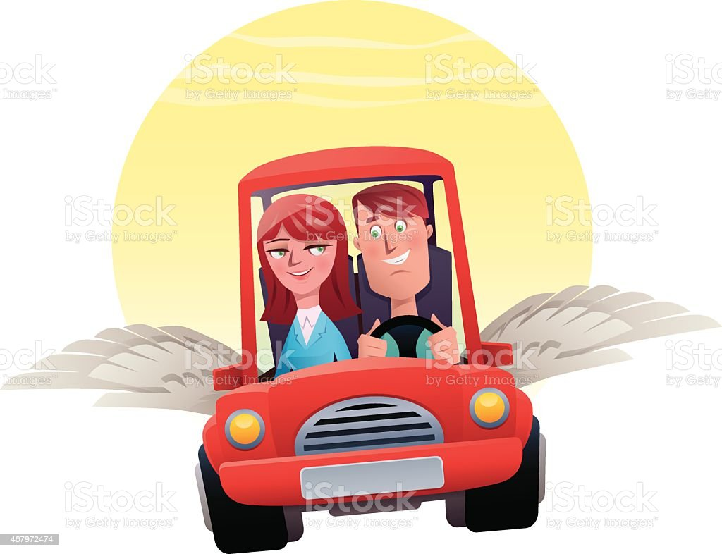 couple avec ailes voiture cliparts vectoriels et plus d 39 images de 2015 467972474 istock. Black Bedroom Furniture Sets. Home Design Ideas