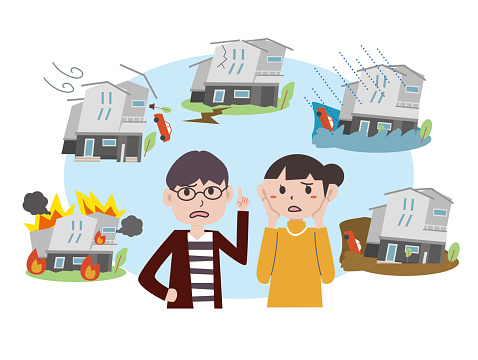 A couple worried about a housing disaster