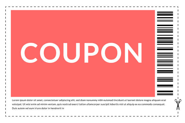 Coupon frame. Clip to save frame with a dotted bounding. Coupon frame. Clip to save frame with a dotted bounding coupon stock illustrations