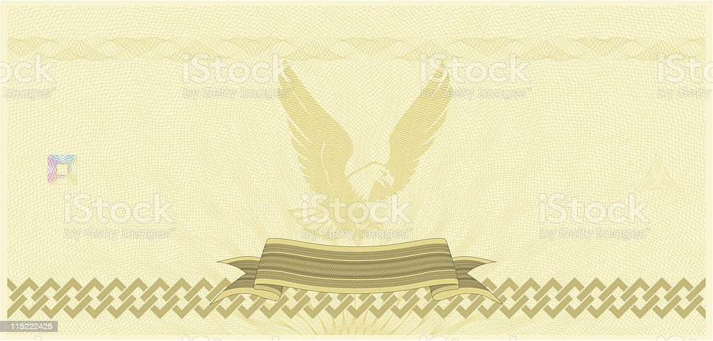 Coupon Template royalty-free stock vector art