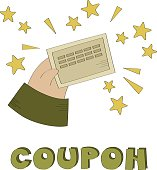 Coupon vector illustration