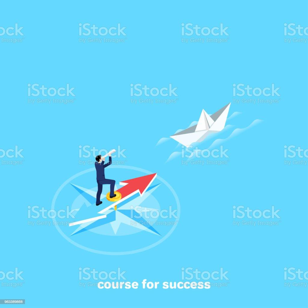 course for success - Grafika wektorowa royalty-free (Abstrakcja)