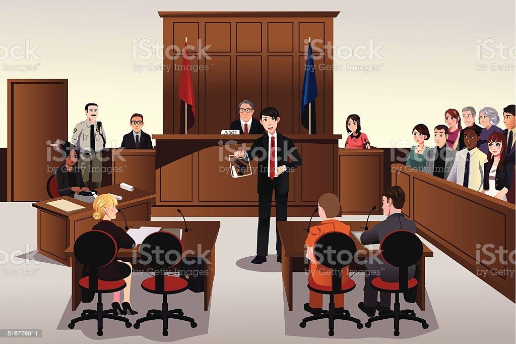 royalty free courtroom clip art vector images illustrations istock rh istockphoto com Jury Clip Art Judge Clip Art