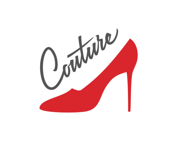 couture-logo-design - couture stock-grafiken, -clipart, -cartoons und -symbole